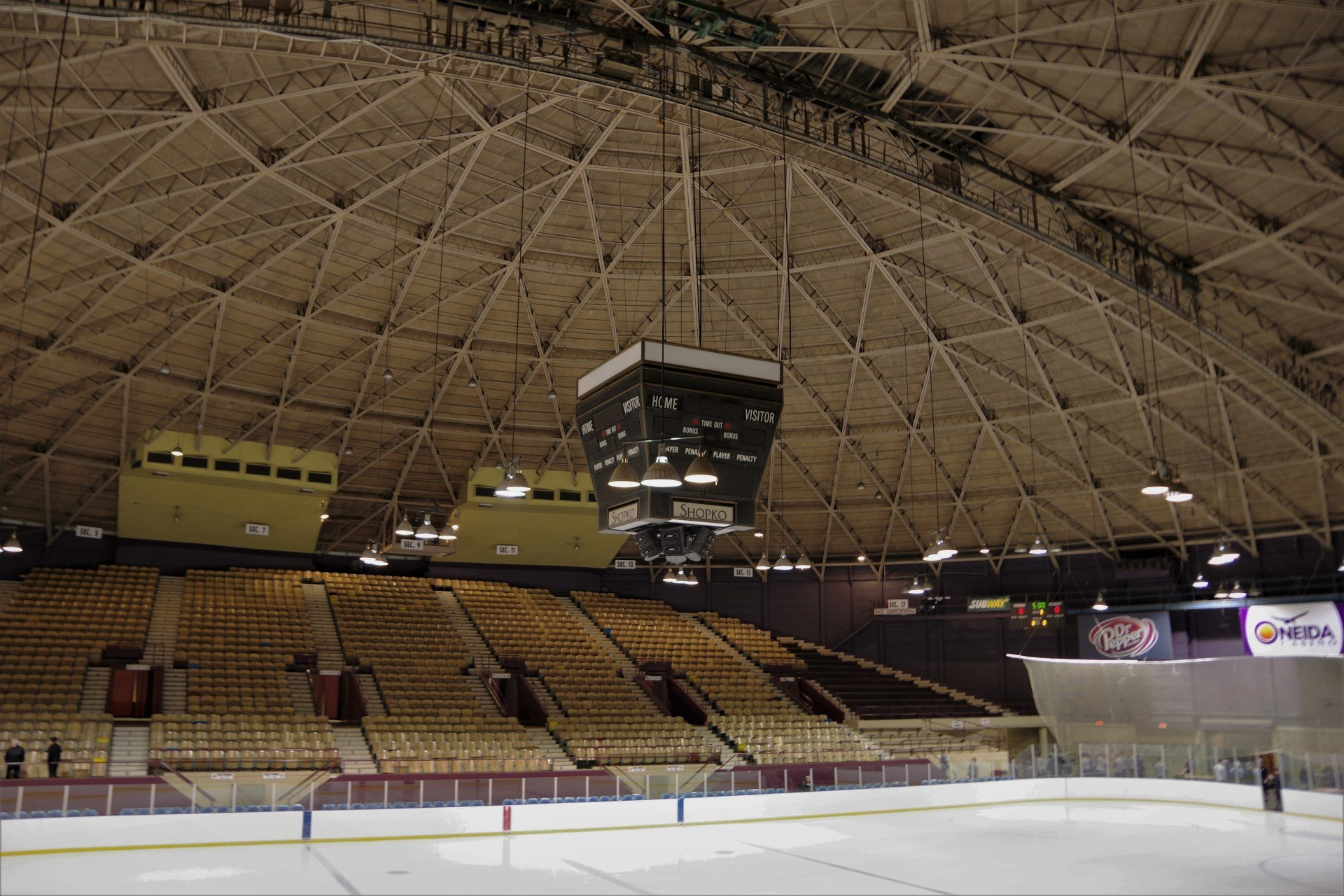 The Birth and Impending Death of the Bobcats' Home Ice